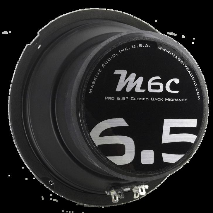 "M6C - 6.5"" 70 WATT 8 OHM MID-RANGE CLOSED BACK SPEAKER by Massive Audio®"