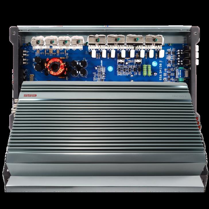 SSA DM150.2 - 2 Channel Amplifier - 150w x 2 Ch  or 500w x 1 Ch