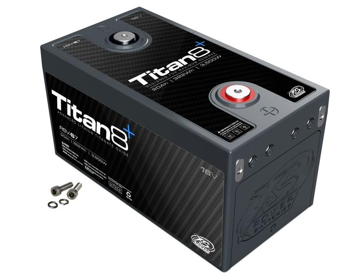 XS Power Titan RSV-S7 16V Lithium Battery (Reserve Capacity)