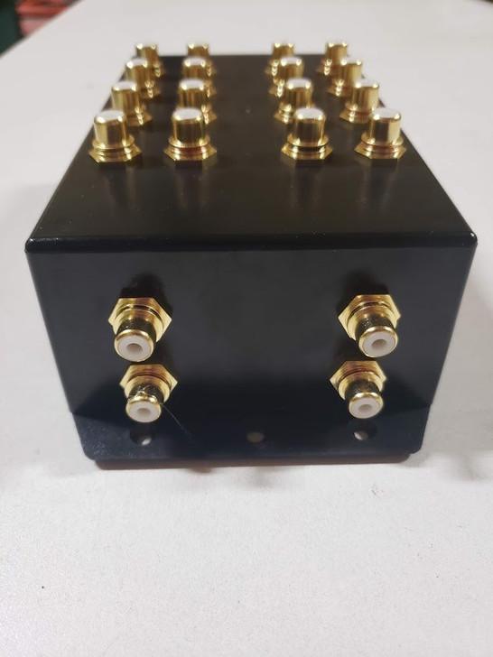 "SBC ""Cock Box"" 2 to 8 RCA Distribution Block"