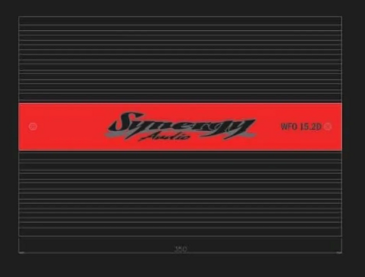 Synergy Audio WFO 15.2D 2 Channel