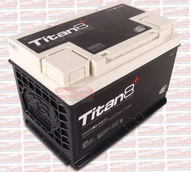 XS POWER PWR-S5 GROUP 48 TITAN8 12V LITHIUM 2000A 120 ENERGY WH BATTERY FOR 5000 WATTS