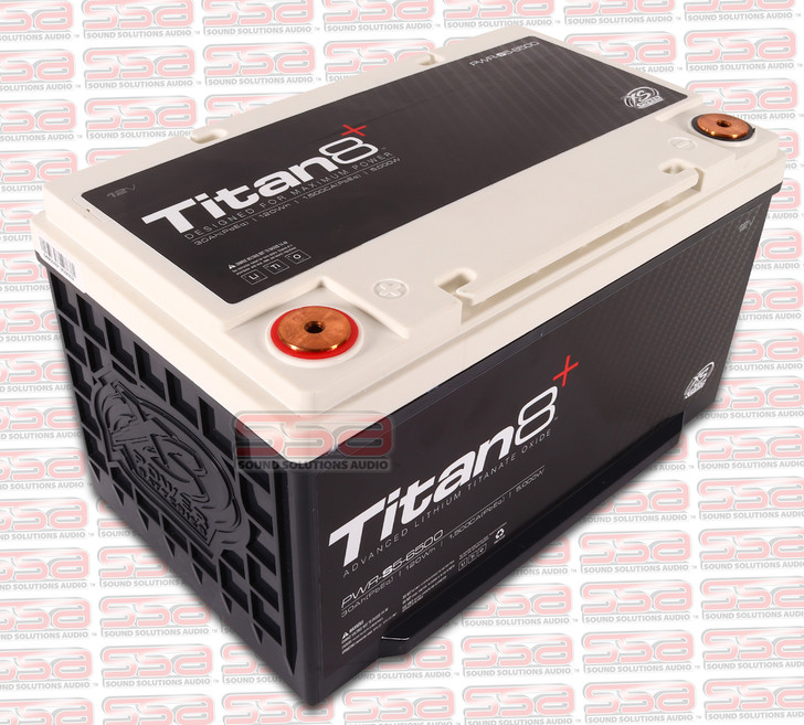 XS POWER PWR-S5 GROUP 65 TITAN8 12V LITHIUM 2000A 120 ENERGY WH BATTERY FOR 5000 WATTS