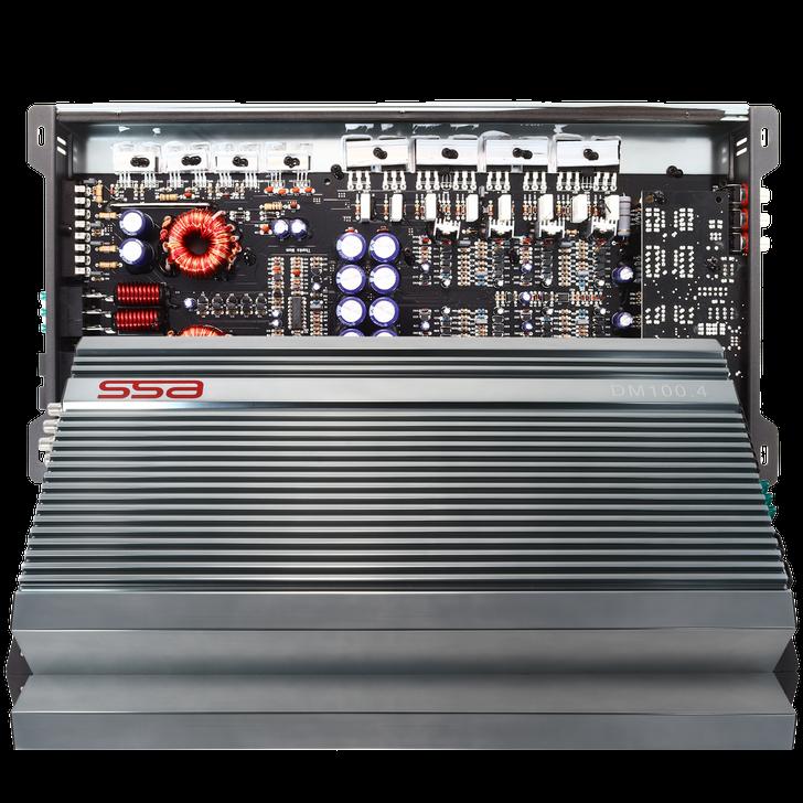 SSA DM100.4 - 4 Channel Amplifier - 100w x 4 Ch  or 350w x 2 Ch