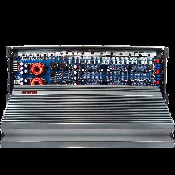 SSA DM150.6 - 6 Channel Amplifier - 150w x 6 Ch