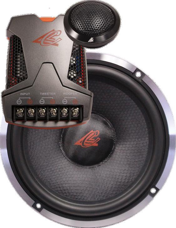 """Crescendo Audio MEZZO SQ2 6.5"""" Component Set"""