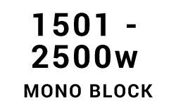1501w - 2500w Mono