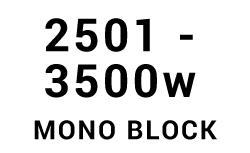 2501w - 3500w Mono