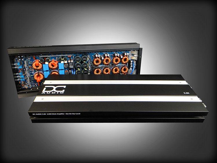 DC Audio 5K A3 5000w Mono Block Amplifier