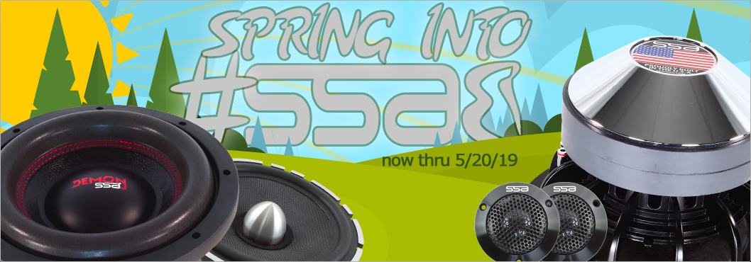 Spring Into Bass Sale