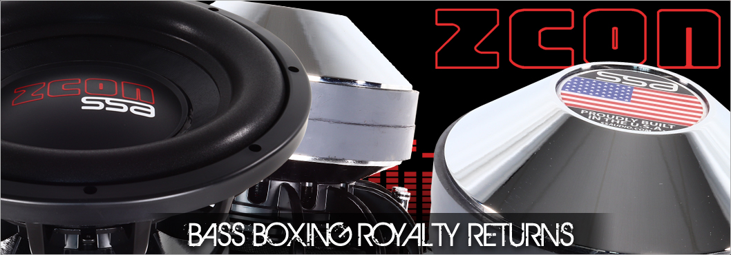 ZCON 2500W Subwoofer by SSA®