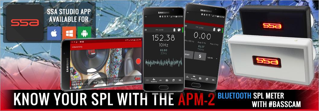 SSA APM-2 Bluetooth SPL Meter