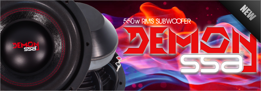DEMON 550W Subwoofer by SSA®