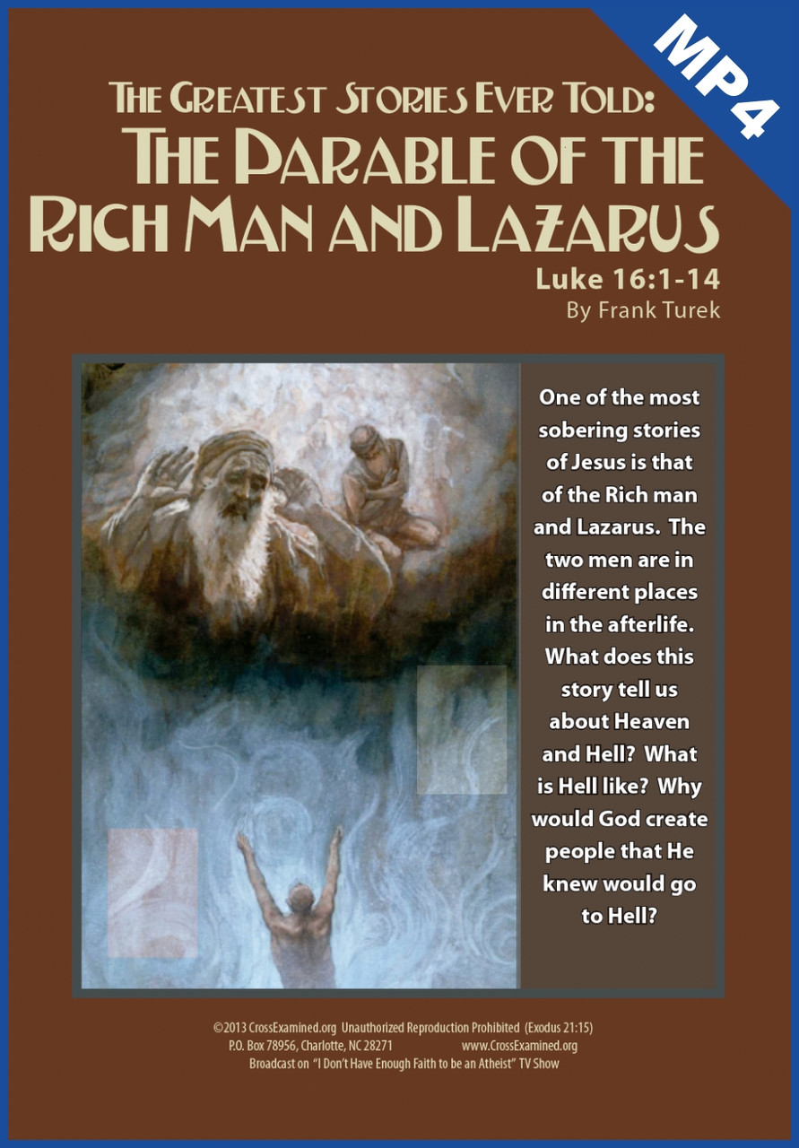 The Greatest Stories Ever Told: Ep 04 - The Parable of The Rich Man and  Lazarus (mp4 download)