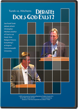 Debate: Does God Exist? Turek vs. Hitchens (DVD)