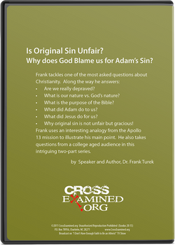 Is Original Sin Unfair? (DVD Set)