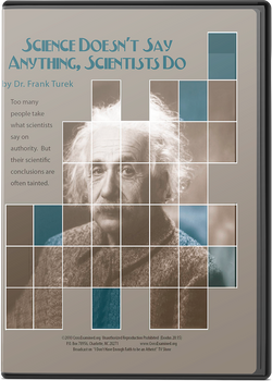 Science Doesn't Say Anything, Scientists Do (DVD)