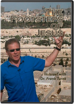 The Footsteps of Jesus  In Israel (DVD)