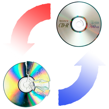Replacement DVD