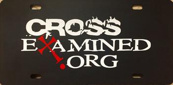 CrossExamined.org Vanity Plate