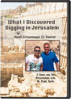 What I Discovered Digging in Jerusalem by Eli Shukron (with Frank Turek)  (DVD)