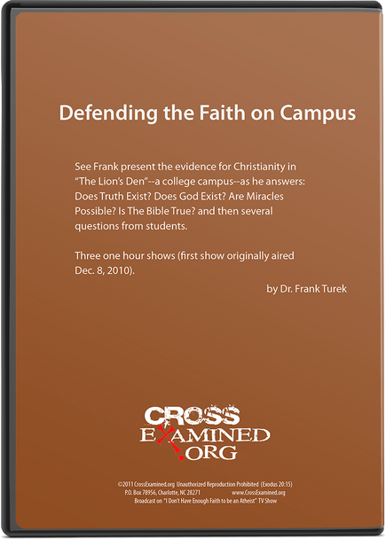 Defending the Faith on Campus (DVD Set)