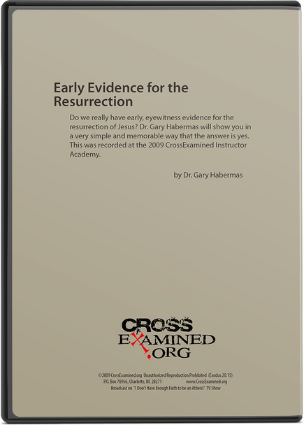Early Evidence for the Resurrection (DVD)