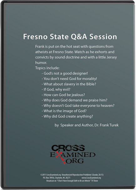 Fresno State Q&A Session (DVD)