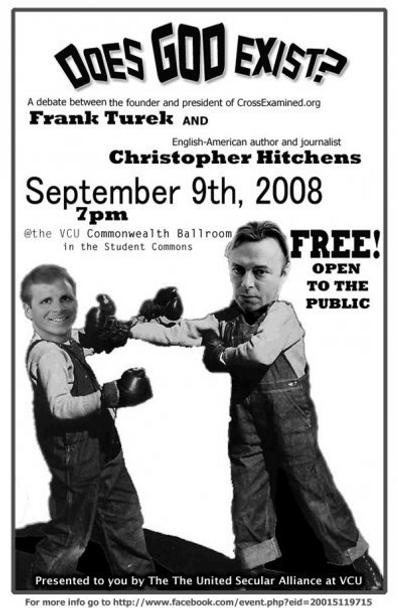 Debate: Does God Exist? Turek vs. Hitchens (MP3)