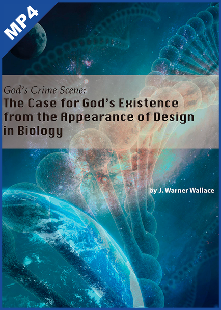 God's Crime Scene: The Case for God's Existence from the Appearance of Design (mp4 Download Set)