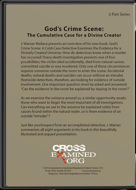 God's Crime Scene: The Cumulative Case for a Divine Creator DVD Set