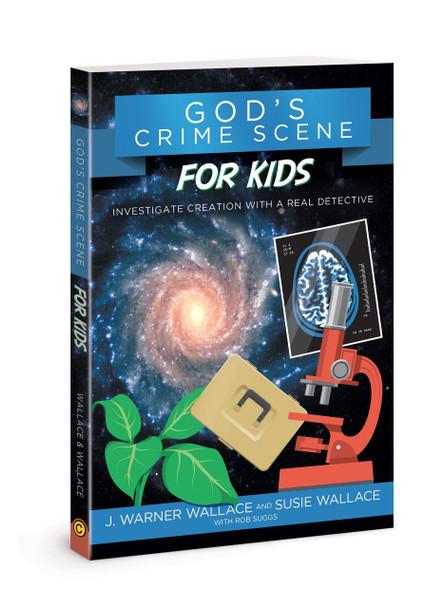 God's Crime Scene for Kids (paperback)