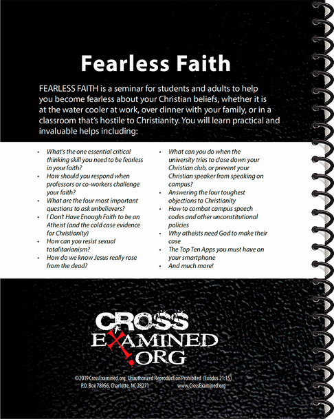 Fearless Faith INSTRUCTOR Study Guide UPDATED 2019