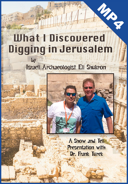 What I Discovered Digging in Jerusalem by Eli Shukron (with Frank Turek) mp4 video DOWNLOAD