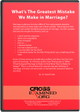 What's The Greatest Mistake We Make in Marriage?