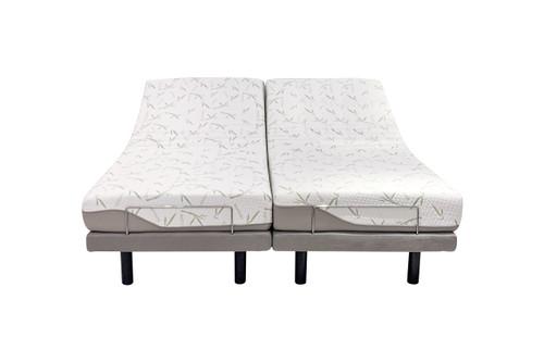 ComfortPosture Electric Adjustable Bed German OKIN Motor with Memory foam mattress King Split