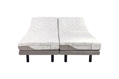 ComfortPosture Electric Adjustable Bed German OKIN Motor with Memory foam mattress Queen Split
