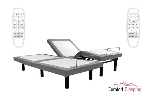 ComfortPosture Electric Adjustable Bed Bases Queen Split