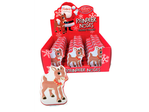 Rudolph Cherry Nose Tins