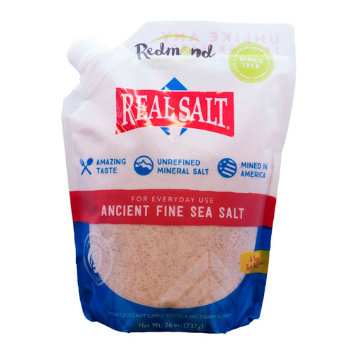 Real Salt Standup Pouch 6/26oz