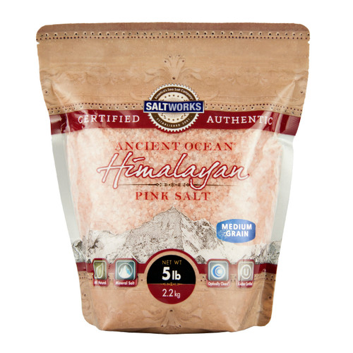 Medium Himalayan Pink Salt 5lb