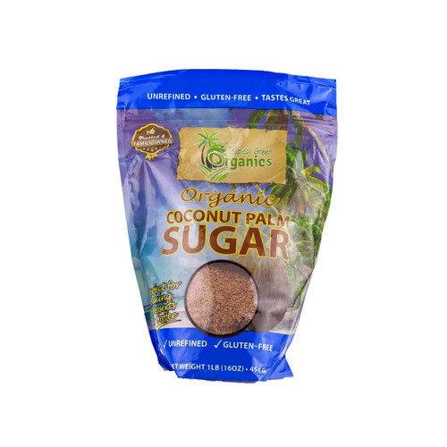 Organic Coconut Palm Sugar 6/1lb