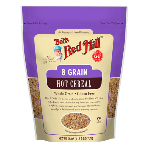 Gluten Free 8 Grain Hot Cereal 4/25oz