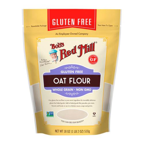 Gluten Free Oat Flour 4/18oz