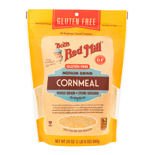 Gluten Corn Meal 4/24oz