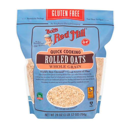 Gluten Free Quick Cooking Oats 4/28oz View Product Image