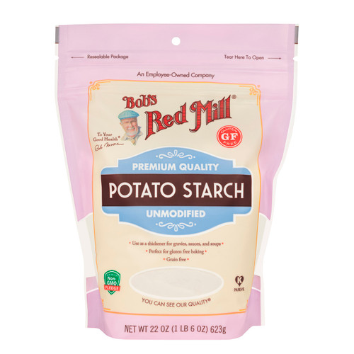 Gluten Free Potato Starch 4/22oz