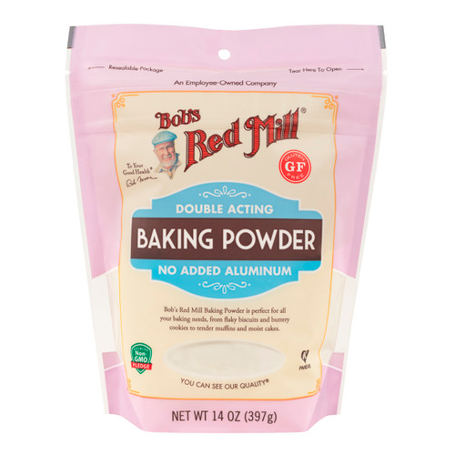 Gluten Free Double Acting Baking Powder 6/14oz