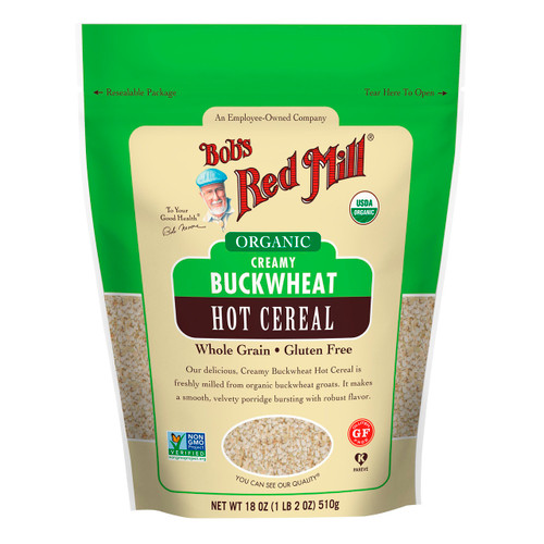 Organic Gluten Free Creamy Buckwheat Cereal 4/18oz