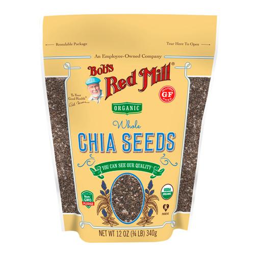 Organic Chia Seeds 6/12oz